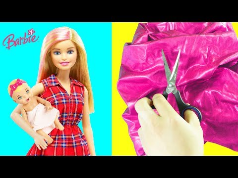 Barbie Baby Clothes:  Fabric, No-Sew, No-Glue and Balloon Clothes for Babies, Chelsea & Princesses