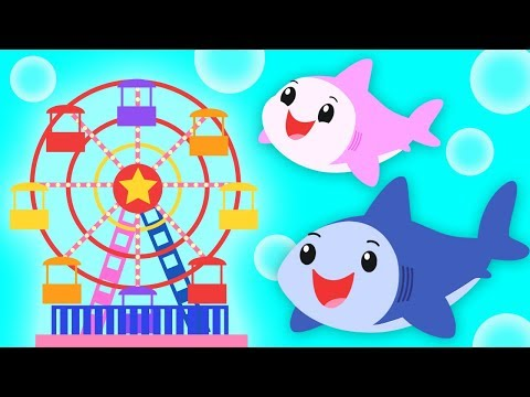 Baby Shark Carnival | DADDY SHARK WEEK | Mother Goose Club Kid Songs and Baby Songs